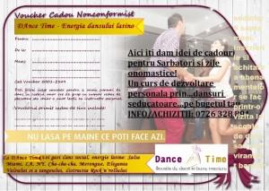 voucher cursuri de dans dancetime