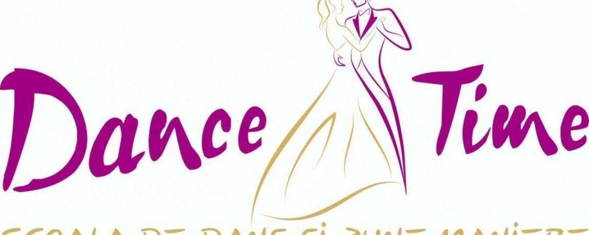 Cursuri de dans DanceTime. Logo.